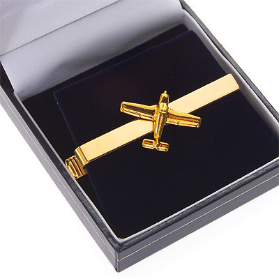 Piper Cherokee Tie Bar / Clip Gold Plated