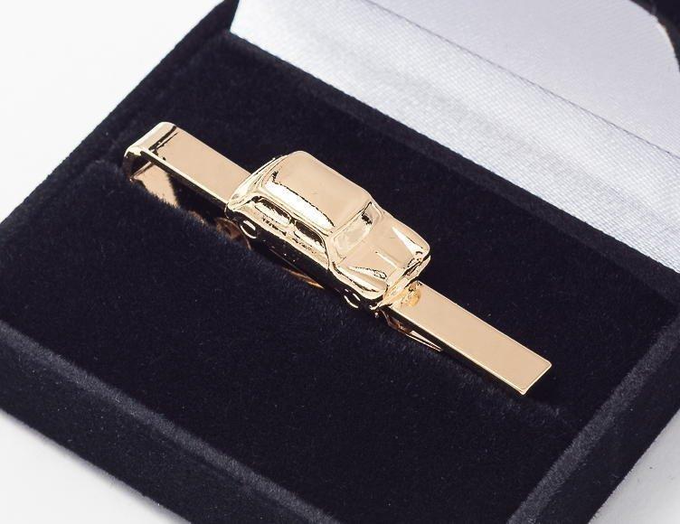 Mini Tie Bar / Clip Gold Plated
