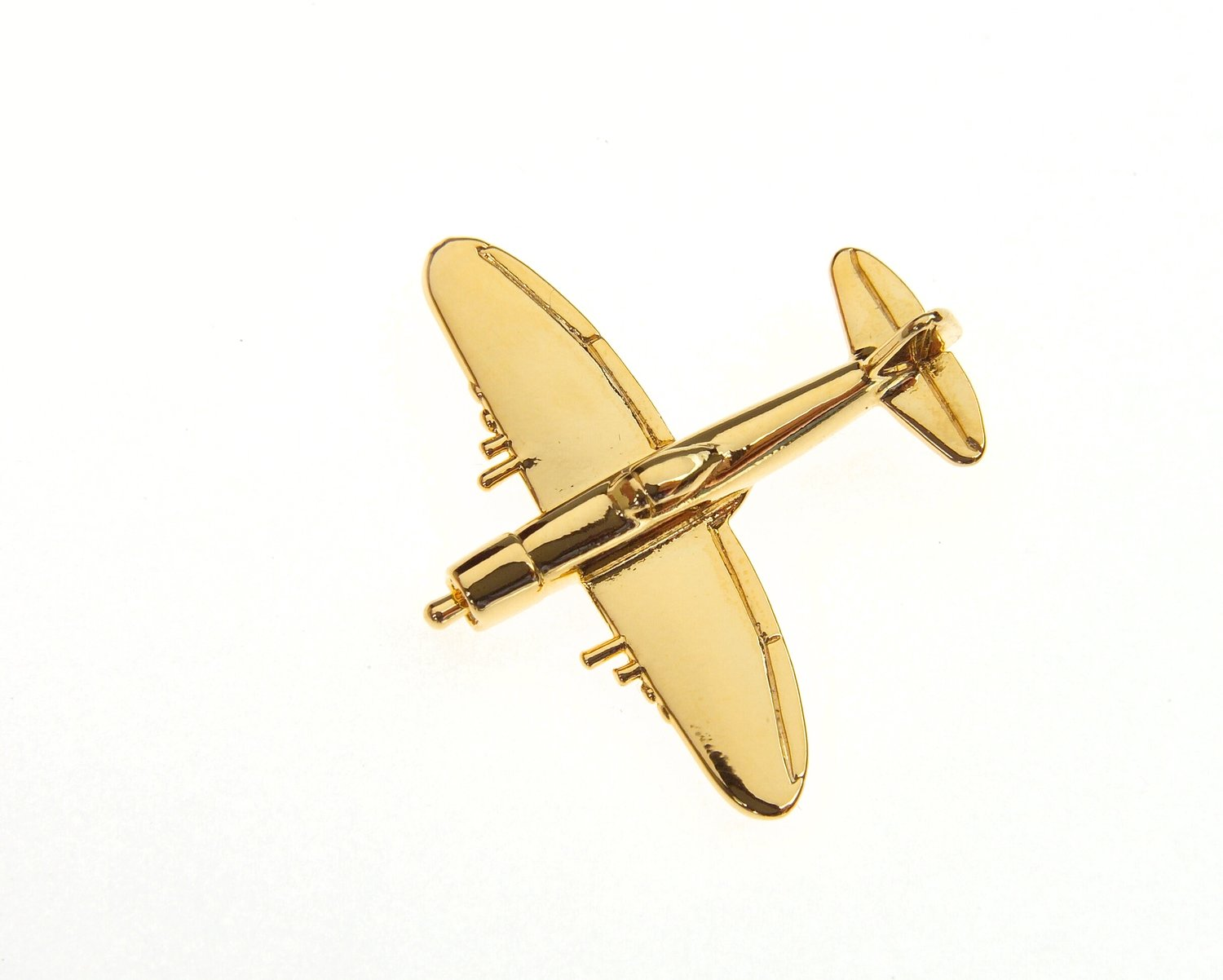 P47 Thunderbolt Gold Plated Tie / Lapel Pin