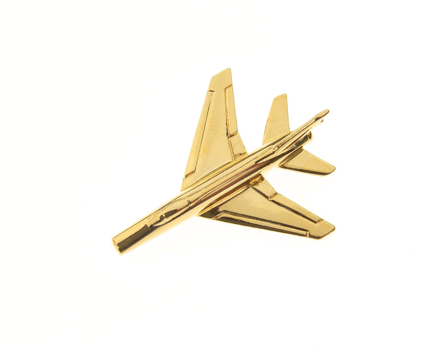 F100 Super Sabre Gold Plated Tie / Lapel Pin