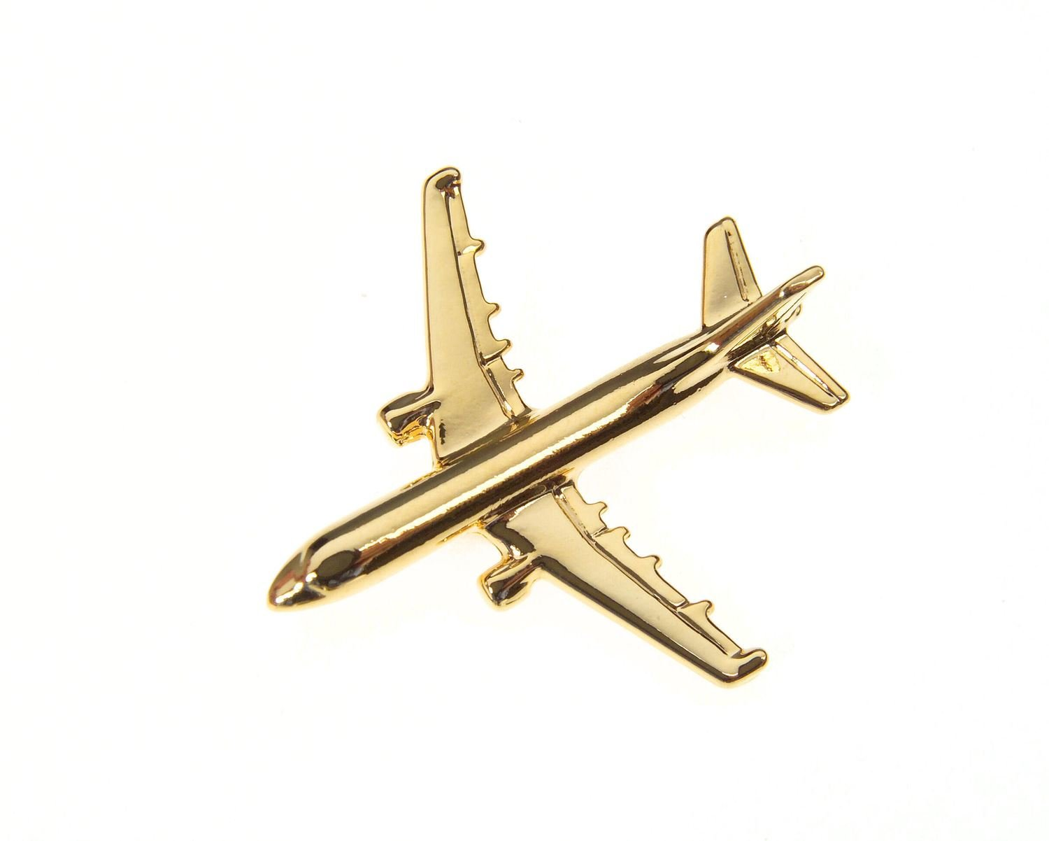 Airbus A330 Gold Plated Tie / Lapel Pin