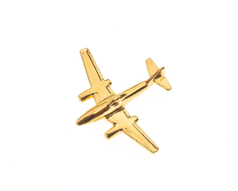 Messerschmitt Me262 Gold Plated Tie / Lapel Pin