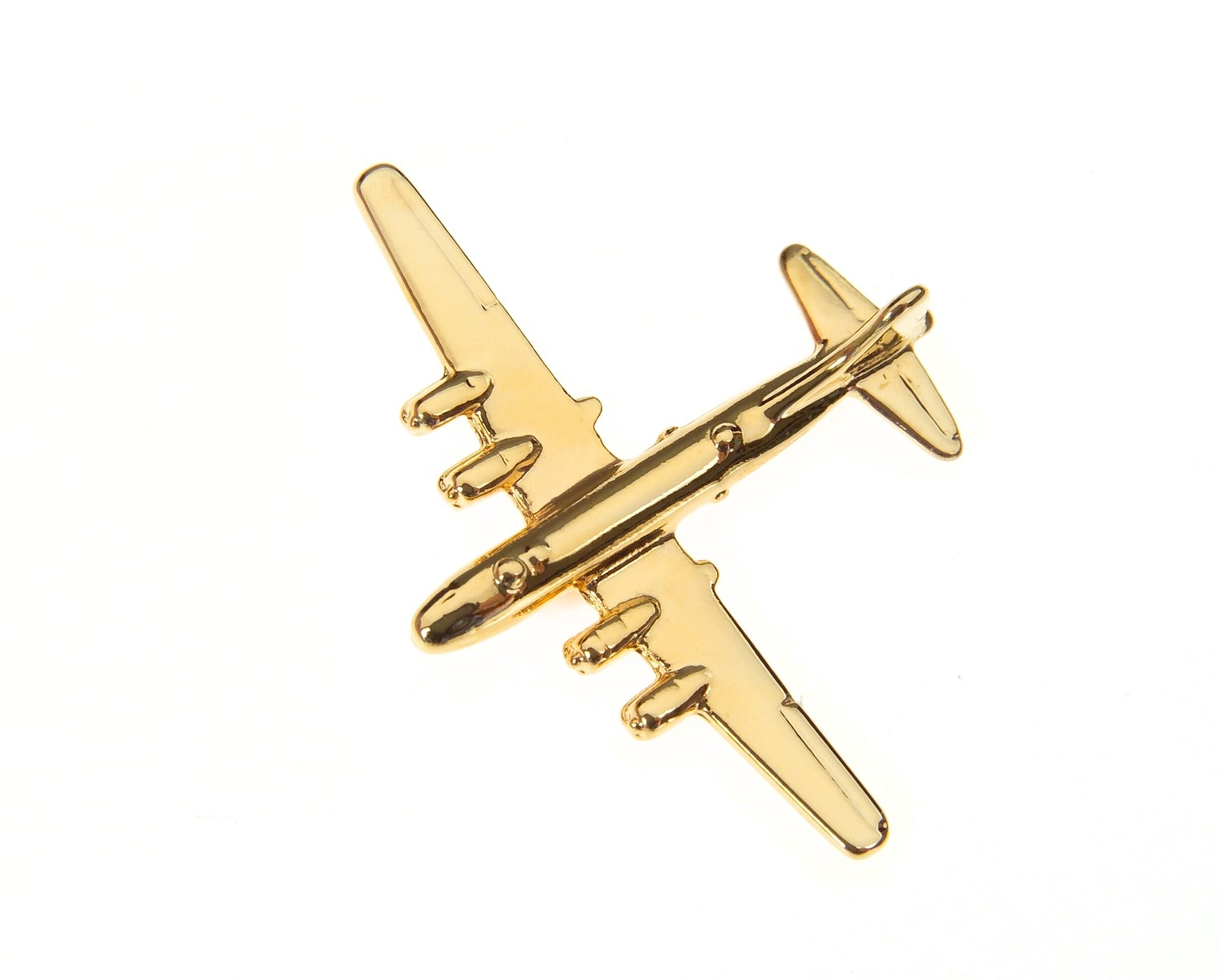 B29 Super Fortress Gold Plated Tie / Lapel Pin