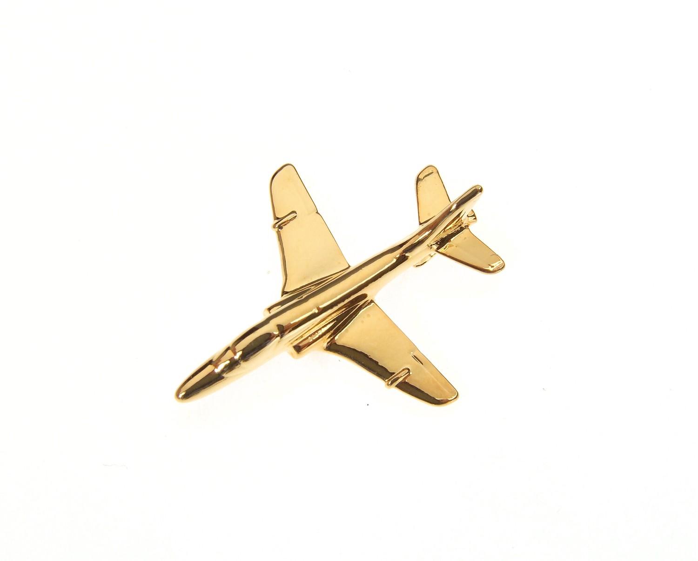Hawk 60 Gold Plated Tie / Lapel Pin