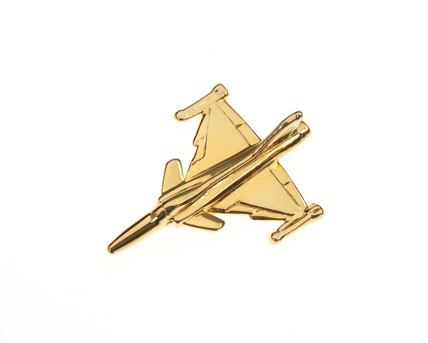 Gripen Gold Plated Tie / Lapel Pin