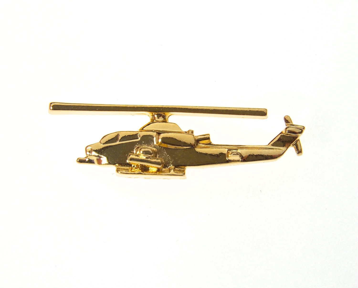 Cobra Gold Plated Tie / Lapel Pin