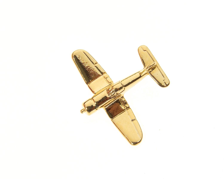 Corsair F4U Gold Plated Tie / Lapel Pin