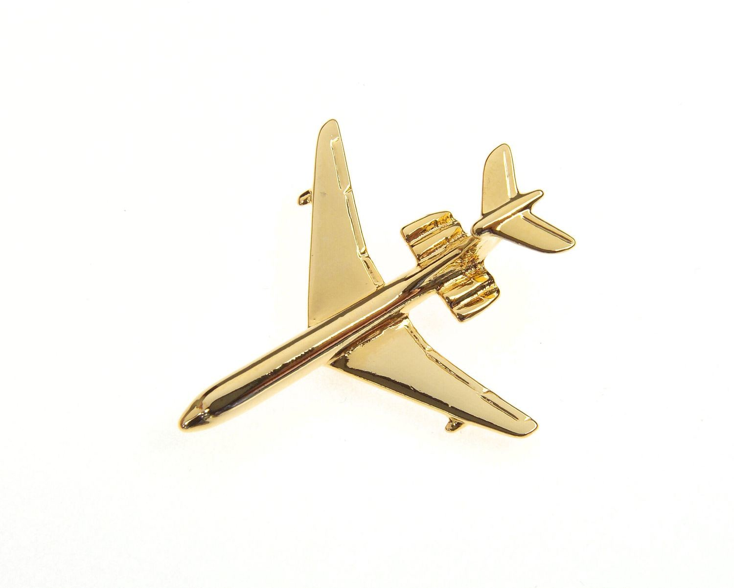 VC10 Tanker Gold Plated Tie / Lapel Pin