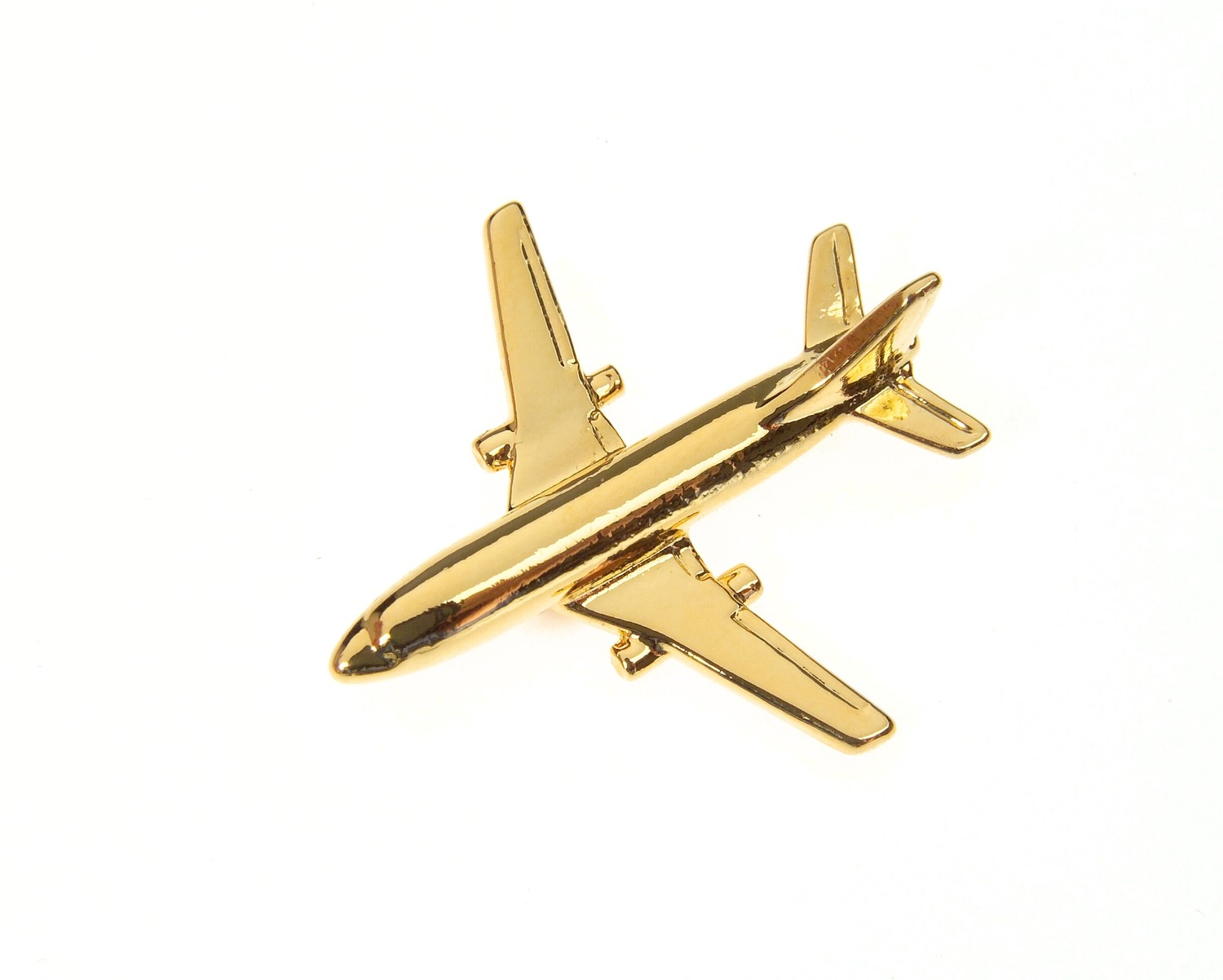 Boeing 737-200 Gold Plated Tie / Lapel Pin