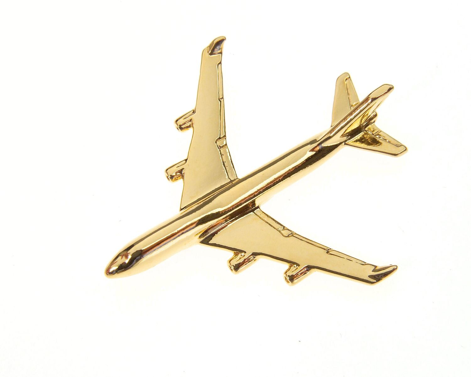 Boeing 747-400 Gold Plated Tie / Lapel Pin