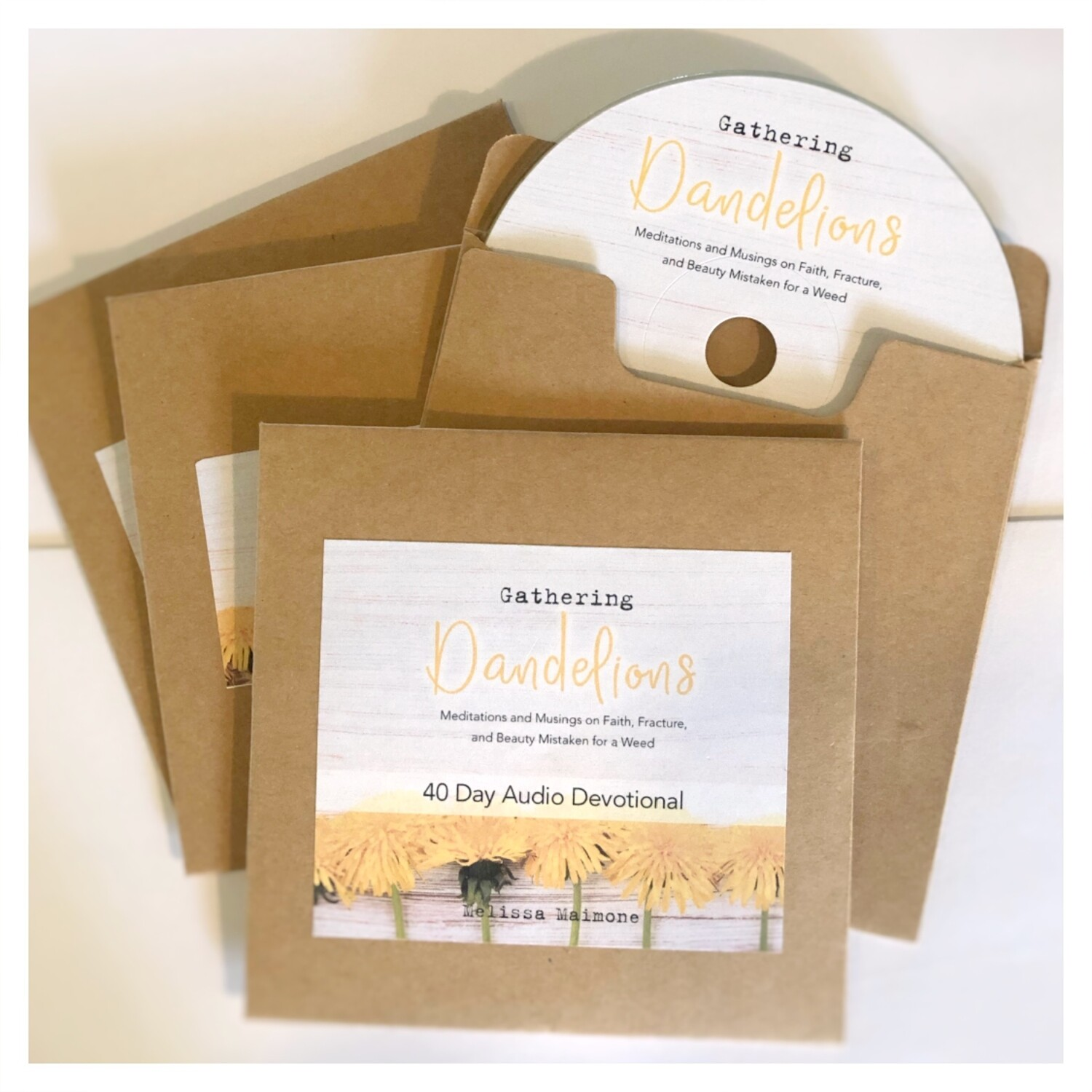 3. Gathering Dandelions - AUDIO BOOK on CD (4 CD's Total)