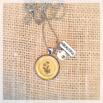 """5. Dandelion """"Beautiful"""" Necklace"""