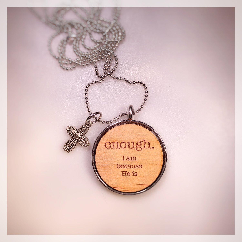 4. ENOUGH Necklace