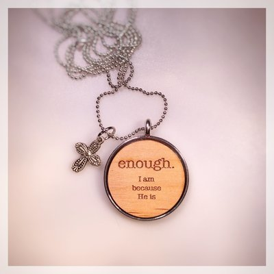 4. ENOUGH Necklace
