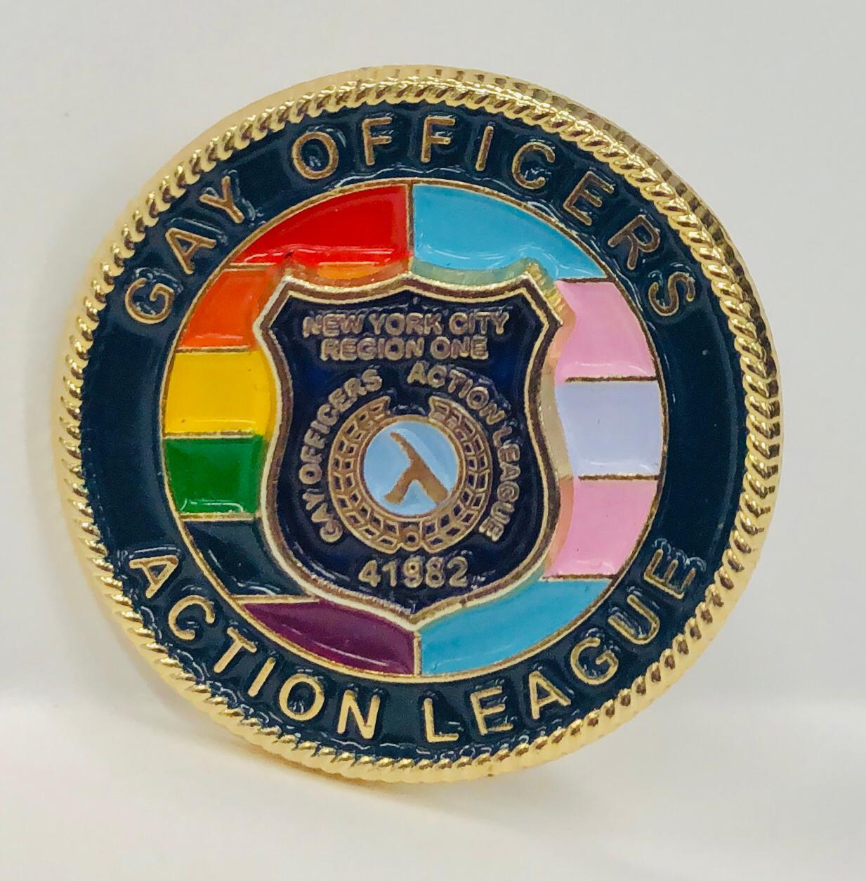 Lapel Pin with Rainbow/Transgender Flag
