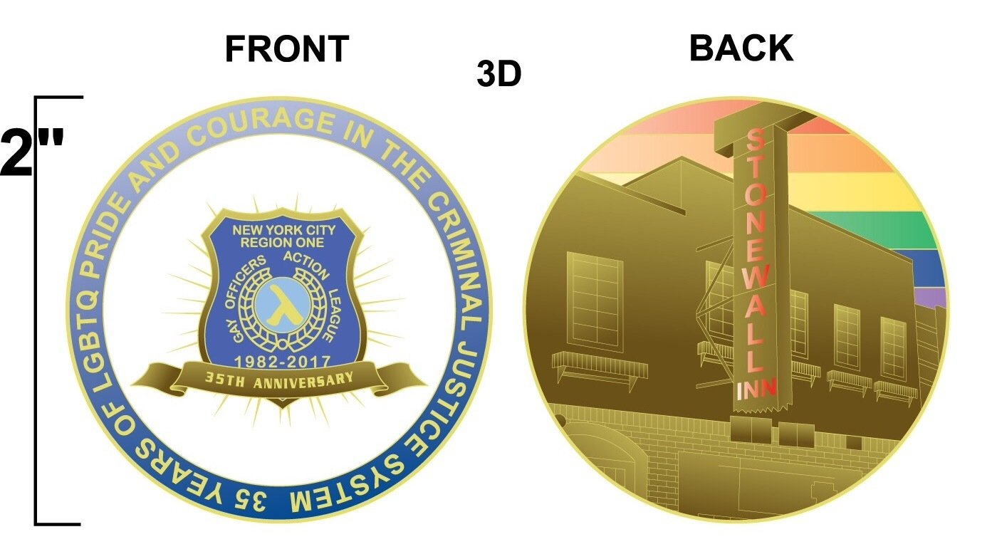 35th Anniversary GOAL NY Challenge Coin