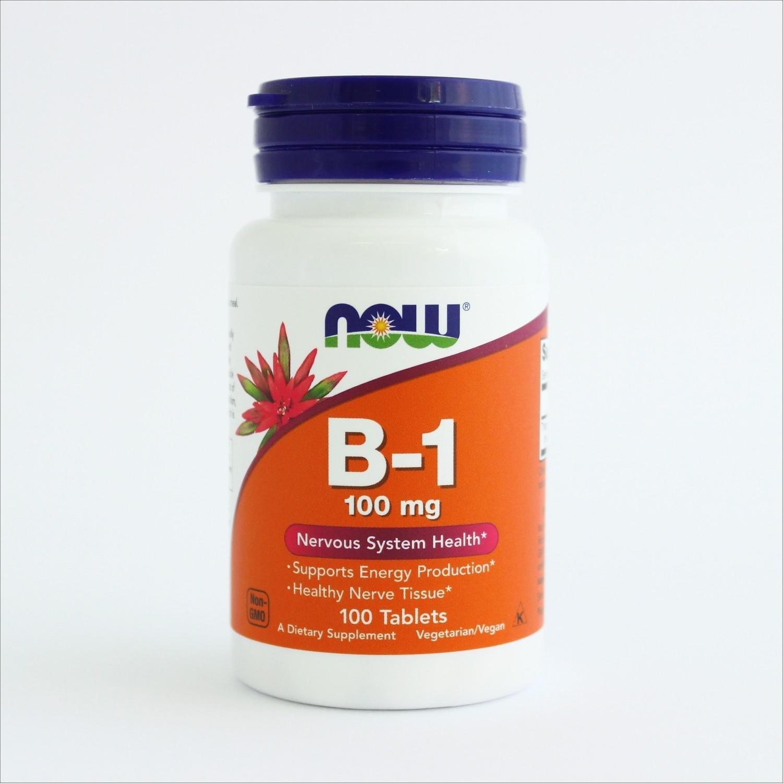 Now B-1 (vitamin B-1  100 mg)