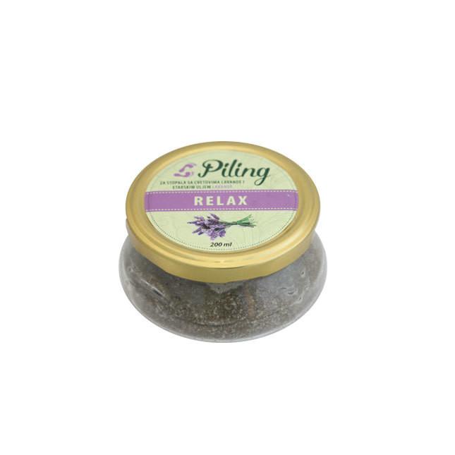 Herbateria - Piling za stopala 200 ml