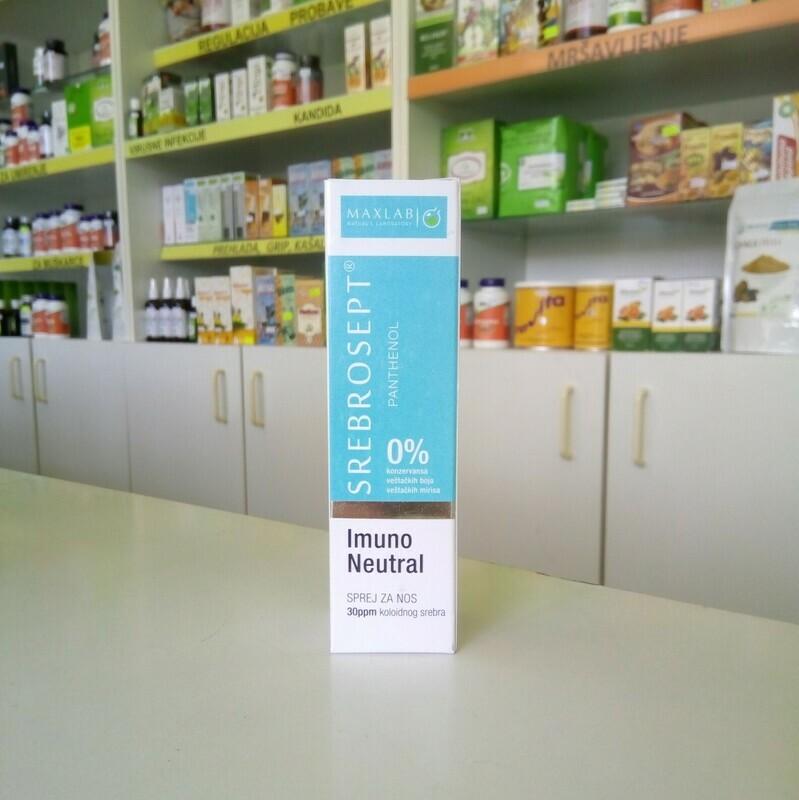 Maxlab - Imuno Neutral sprej za nos 30 ml