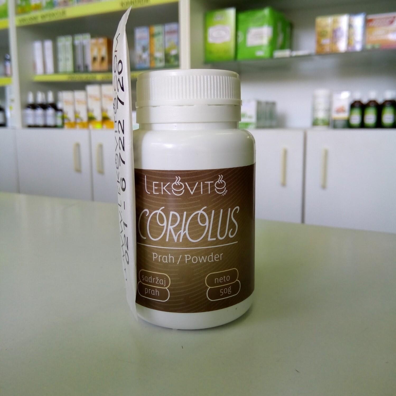 Coriolus prah 50 g