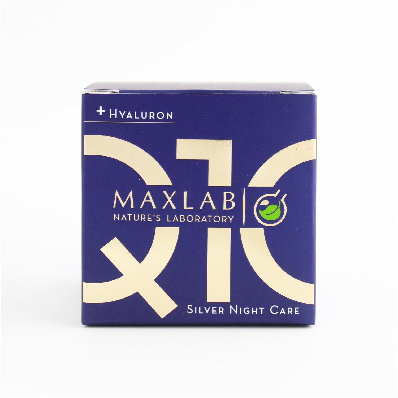 Maxlab - Srebrna noćna krema Q10 + hijaluron