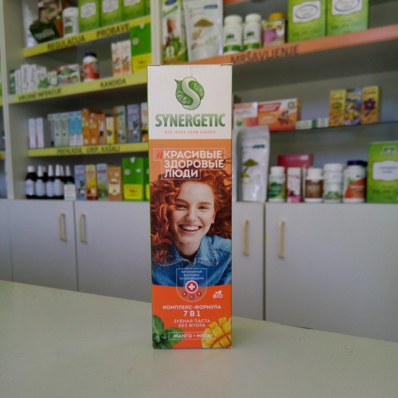 Synergetic Pasta za zube bez fluorida 7 u 1 - 100 g