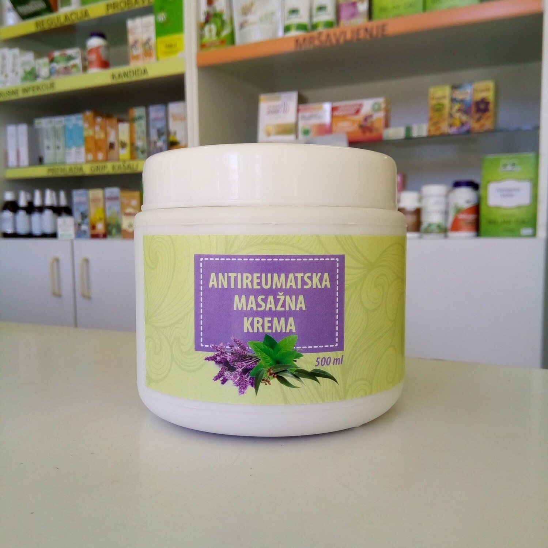 Herbateria - Antireumatska masažna krema 500 ml