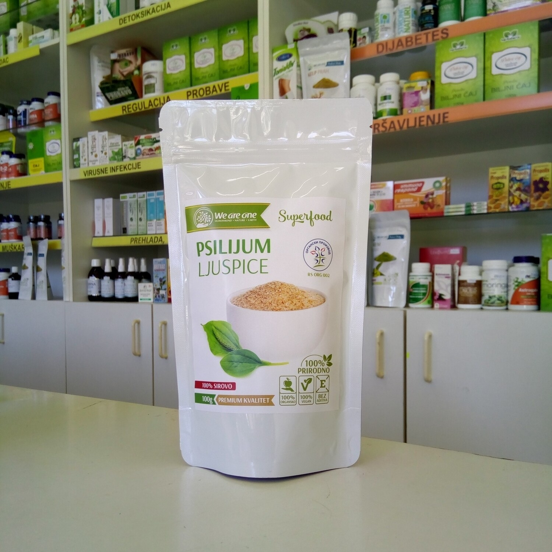 WAO Psilijum ljuspice (organske) 100 g