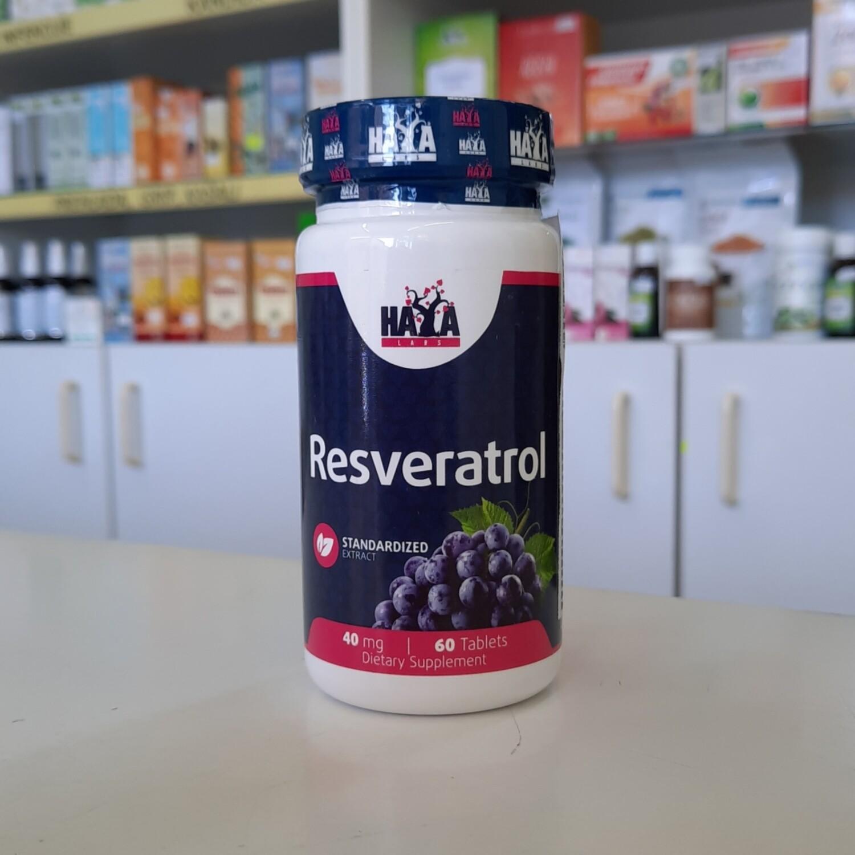 Haya Resveratrol 60 tbl