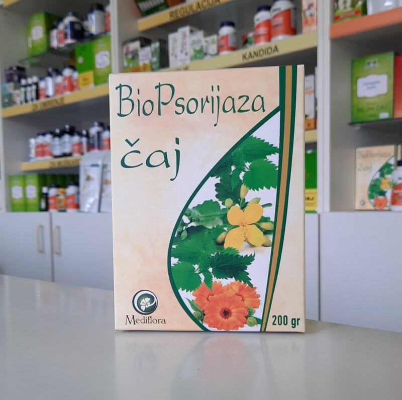 Biopsorijaza čaj 200 g (po receptu Marije Treben) Mediflora