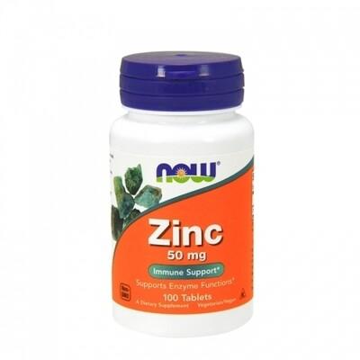 Now Cink 50 mg 100 tbl