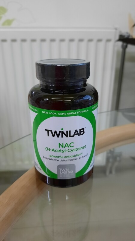 Twinlab NAC (N-acetil cistein) 600 mg  - 60 tableta