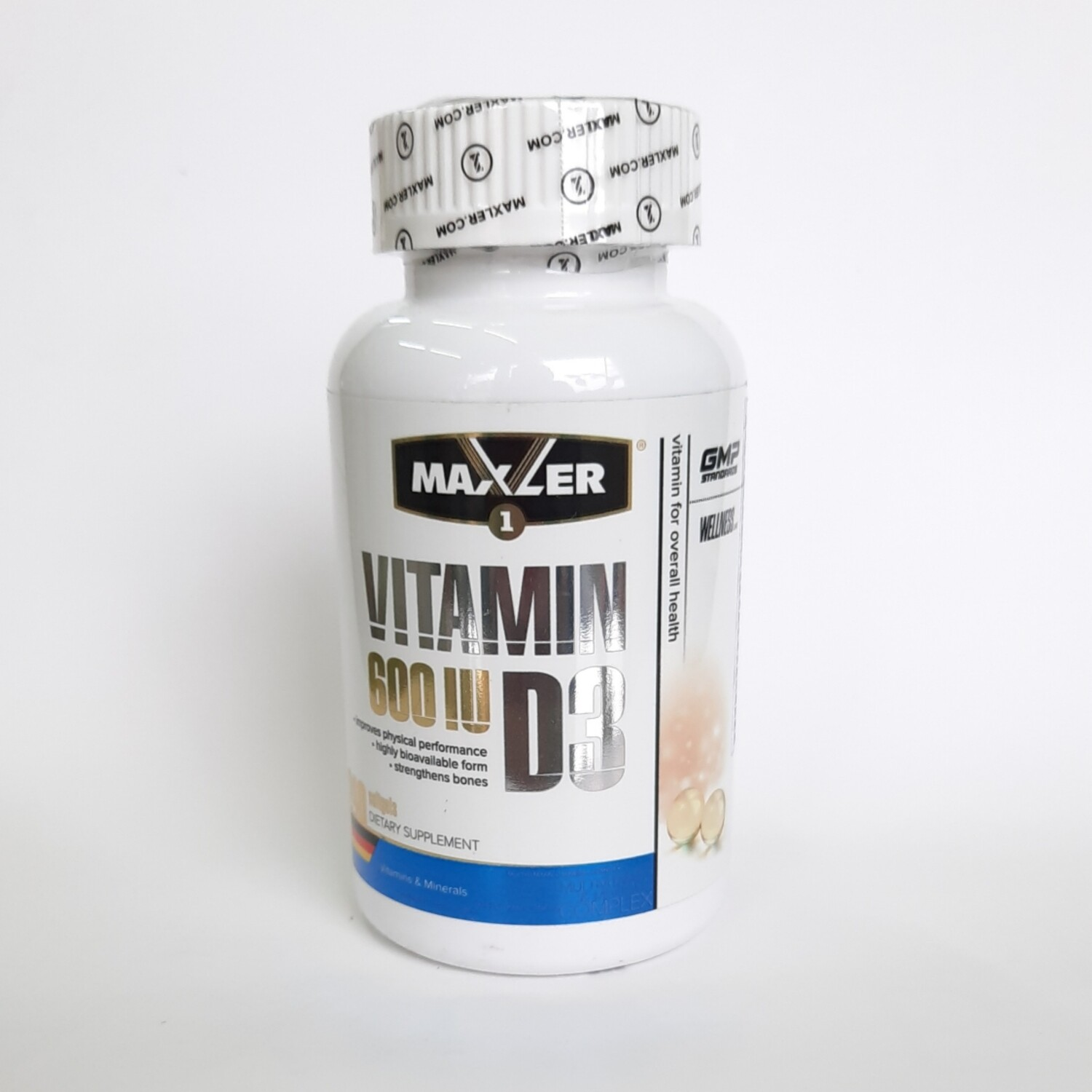Maxler vitamin D3 600 IU 240 softgels