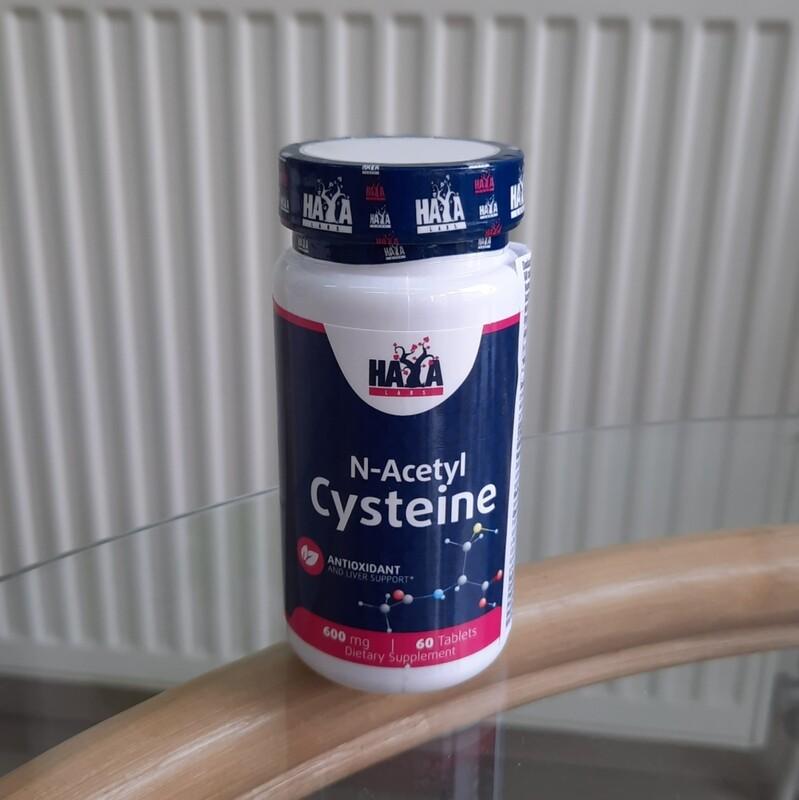 Haya Labs NAC (N-acetil cistein) 600 mg  - 60 tableta