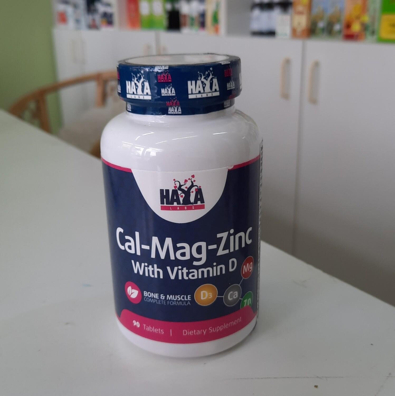 Haya Calcium, Magnesium, Zinc + vitamin D3 90 tbl