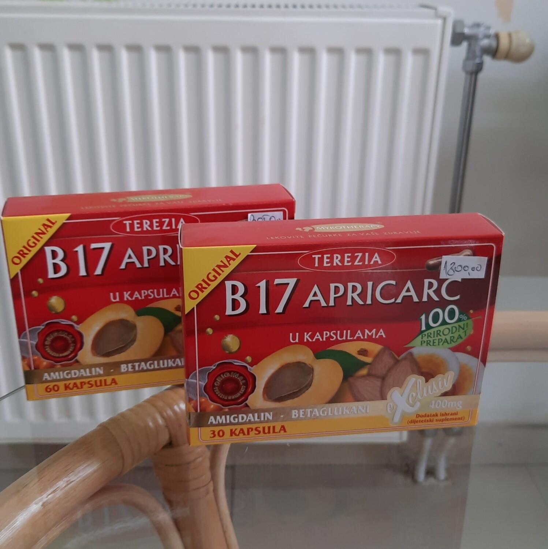 B17 amigdalin- beta-glukani 60 kapsula