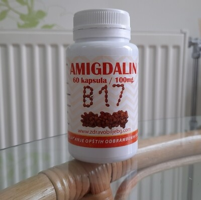 Amigdalin B17- 100 mg 60 kapsula