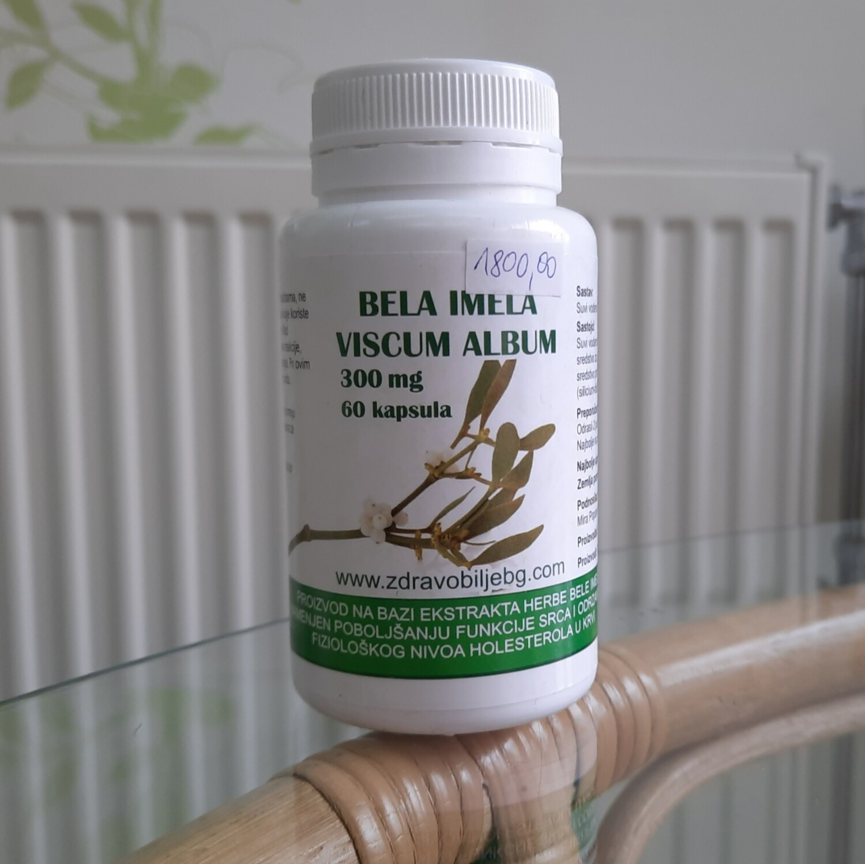Bela imela ( Viscum album) 300 mg 60 kapsula