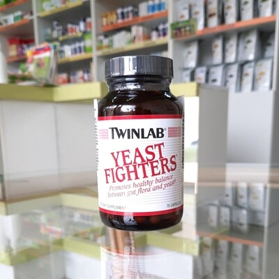 Twinlab Yeast fighters 75 cps
