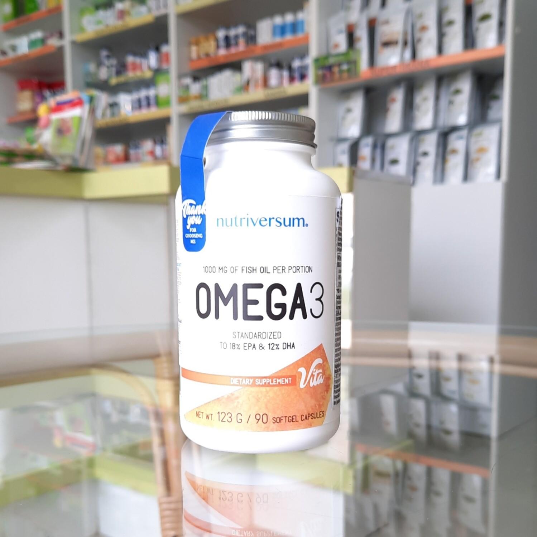 Nutriversum Omega 3 1000 mg 90 kps