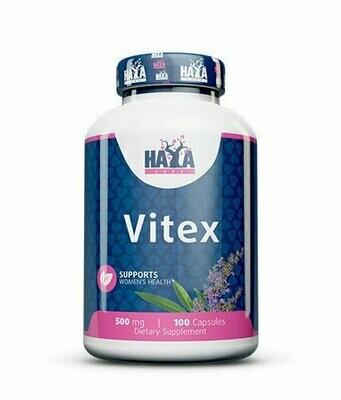 Vitex - Konopljika (za menstrualne poremećaje, PMS, menopauzu...) 500 mg (100 kapsula)