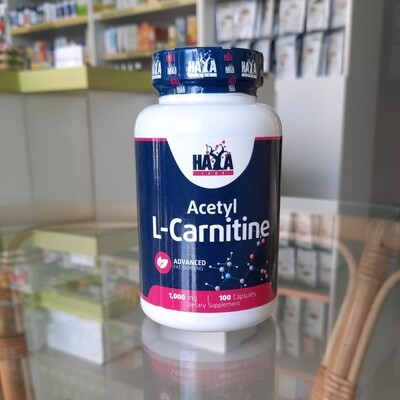 Haya Acetyl L-Carnitine 1000 mg 100 kps