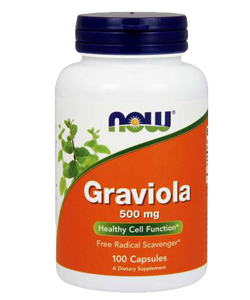 Now Graviola 500 mg 100 cps