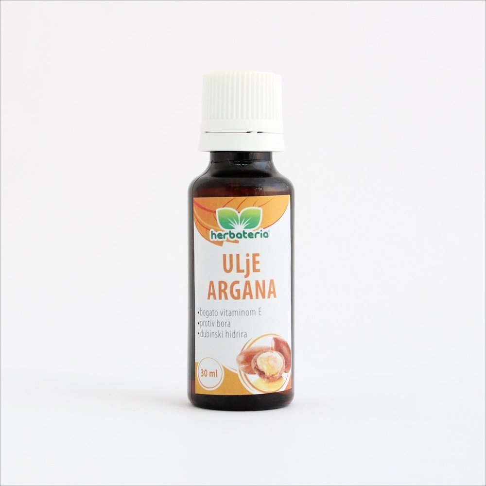 Herbateria - Hladno ceđeno ulje argana 30 ml