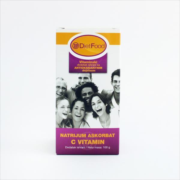 DietFood - Natrijum askorbat (C vitamin) 300 g