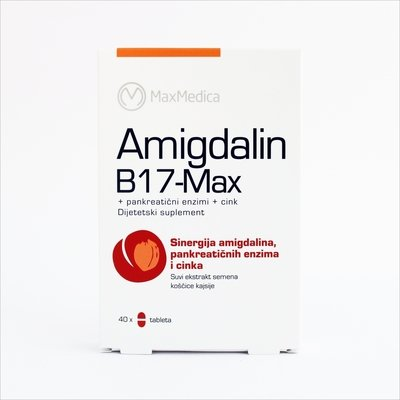 Amigdalin B17- Max 40 tableta