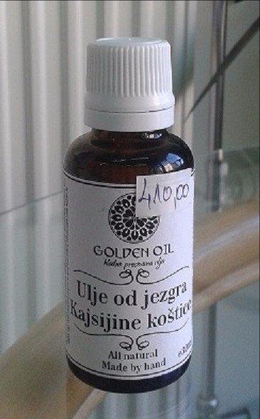 Golden Oil ulje jezgra kajsijine koštice 30 ml