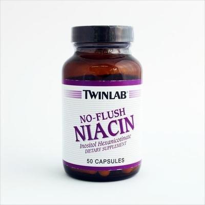 Twinlab - Niacin bez crvenila (50 kapsula)