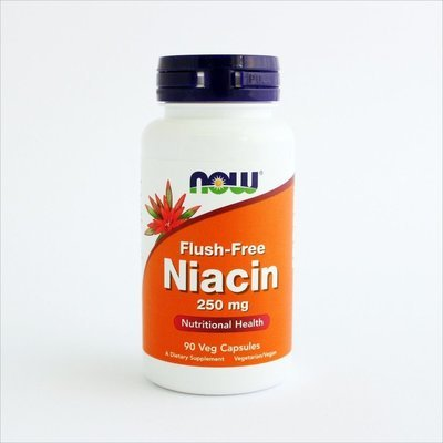 NOW Foods - Niacin bez crvenila 250mg (90 kapsula)