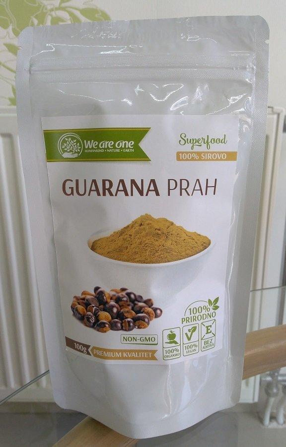 Guarana prah  (za energiju i budnost) 100 g